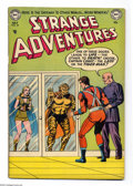 Golden Age (1938-1955):Science Fiction, Strange Adventures #34 (DC, 1953) Condition: VG-. Starring CaptainComet. Murphy Anderson cover, interior art by Anderson, C...