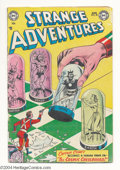 Golden Age (1938-1955):Science Fiction, Strange Adventures #35 (DC, 1953) Condition: VG. Starring CaptainComet. Chessboard cover. Murphy Anderson, Carmine Infantin...