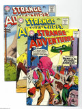 Silver Age (1956-1969):Science Fiction, Strange Adventures Group (DC, 1959-60) Condition: Average FN. Thislot consists of issues #106, 109, 110, 111, 112, 114, 116...(Total: 8 Comic Books Item)