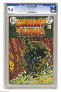 Bronze Age (1970-1979):Horror, Swamp Thing #9 (DC, 1974) CGC NM 9.4 Off-white to white pages.Bernie Wrightson cover and art. Overstreet 2004 NM- 9.2 value...