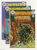 Bronze Age (1970-1979):Horror, Swamp Thing Group (DC, 1974-75). This lot consists of issues #9(VF), 10 (NM-), and 17 (VF+). Bernie Wrightson art. Overstre...(Total: 3 Comic Books Item)