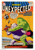 Silver Age (1956-1969):Horror, Tales of the Unexpected #40 (DC, 1959) Condition: VG+. Space Rangerbegins. Overstreet 2004 VG 4.0 value = $180....
