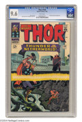Silver Age (1956-1969):Superhero, Thor #130 (Marvel, 1966) CGC NM+ 9.6 White pages. Jack Kirby cover and art. This is the highest grade that CGC has assigned ...