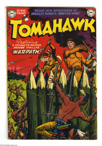 Tomahawk #3 (DC, 1951) Condition: VG+. Fred Ray cover. Bruno Premiani art. Off-white to white pages. Overstreet 2004 VG...