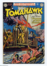 Tomahawk #7 (DC, 1951) Condition: FN+. Fred Ray cover. Bruno Premiani art. Off-white to white pages. Overstreet 2004 FN...