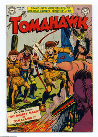 Tomahawk #8 (DC, 1951) Condition: VF. Fred Ray cover. Bruno Premiani art. Off-white to white pages. Overstreet 2004 VF 8...