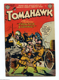 Tomahawk #10 (DC, 1952) Condition: VG/FN. Bob Brown cover. Fred Ray and Bruno Premiani art. Overstreet 2004 VG 4.0 value...