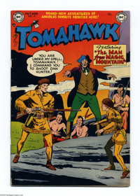 "Tomahawk #12 (DC, 1952) Condition: FN+. Called ""uncommon"" by Gerber's Photo-Journal. Bob Brown cover. Fred Ray..."
