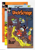Modern Age (1980-Present):Humor, Uncle Scrooge Group (Whitman, 1982) Condition: Average VF/NM. Thisgroup includes #194, 195, 196, 199, and 200. Most have (r...(Total: 5 Comic Books Item)