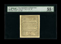 Colonial Notes:New Hampshire, New Hampshire July 3, 1776 $6 PMG About Uncirculated 55 Net....