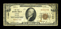 National Bank Notes:Montana, Lima, MT - $10 1929 Ty. 1 The Security NB Ch. # 11492. ...