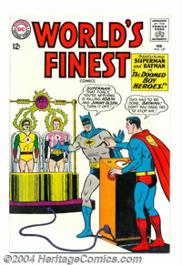 World's Finest Comics #147 (DC, 1965) Condition: VF/NM. Superman and Batman appear. Curt Swan cover art. Swan and Sheldo...