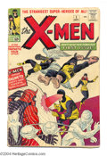 Silver Age (1956-1969):Superhero, X-Men #1 (Marvel, 1963) Condition: GD+. This is the first issue of the long-running series, which features the origin and fi...