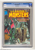 Bronze Age (1970-1979):Horror, Legion of Monsters #1 (Marvel, 1975) CGC NM- 9.2 Off-white to whitepages. Origin and first appearance of the Legion of Mons...