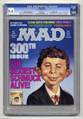 Magazines:Mad, Mad #300 Hussein Asylum Edition - Gaines File pedigree (EC, 1991)CGC NM 9.4 White pages. This special edition was only dist...