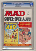 Magazines:Mad, Mad Super Special #12 (EC, 1974) CGC NM 9.4 Off-white to whitepages. Includes the Nostalgic Mad #2 insert. Overstreet 2...