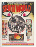 Bronze Age (1970-1979):Horror, Spirit World #1 (Hampshire Distributors, Ltd., 1971) Condition:FN/VF. This low-distribution magazine is almost as tough to ...