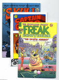 Bronze Age (1970-1979):Alternative/Underground, Underground Comix Group Group (Various, 1970-85). Plug in the lava lamp and settle down with these cool Undergrounds: Arti... (Total: 7 Comic Books Item)
