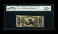 Fractional Currency:Third Issue, Fr. 1347 50c Third Issue Justice PMG About Uncirculated 55 EPQ....