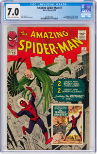 The Amazing Spider-Man #2 (Marvel, 1963) CGC FN/VF 7.0 Cream to off-white pages