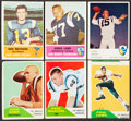 Football Cards:Lots, 1960-62 Fleer Football Collection (82)....