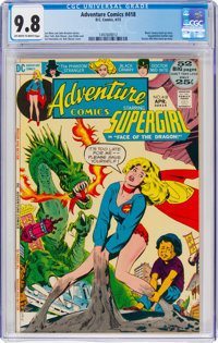 Adventure Comics #418 (DC, 1972) CGC NM/MT 9.8 Off-white to white pages