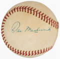 Autographs:Baseballs, Joe Medwick Single Signed Baseball. Offered is the...