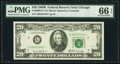 Fr. 2069-G* $20 1969B Federal Reserve Note. PMG Gem Uncirculated 66 EPQ
