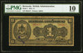 Bermuda Bermuda Government 1 Pound 2.12.1914 Pick 1 PMG Very Good 10