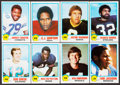 Football Cards:Sets, 1978 Topps Holsum Bread Football Complete Set (33). ...