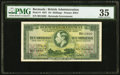 World Currency, Bermuda Bermuda Government 10 Shillings 12.5.1937 Pick 9 PMG Choice Very Fine 35.. ...