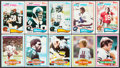 Football Cards:Sets, 1980 and 1982 Topps Football High Grade Complete Sets (2). ...