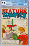 Platinum Age (1897-1937):Miscellaneous, Feature Funnies #2 (Quality, 1937) CGC FN 6.0 Cream to off-white pages....