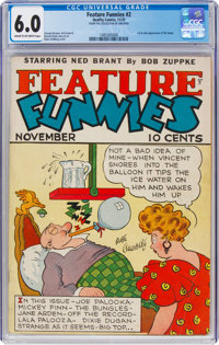 Feature Funnies #2 (Quality, 1937) CGC FN 6.0 Cream to off-white pages