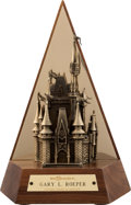 Animation Art:Maquette, Walt Disney Theme Park 15 Year Service Award (Walt Disney, c. 1990s)....