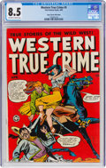 Golden Age (1938-1955):Western, Western True Crime #5 Mile High Pedigree (Fox Features Syndicate, 1949) CGC VF+ 8.5 Off-white to white pages....