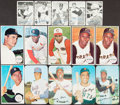 Baseball Cards:Lots, 1964 to 1971 Topps Giants, Deckle Edge and Super Collection (109). ...