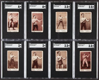1890 Mayo's Cut Plug Boxing SGC Graded Collection (22)