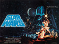 """Movie Posters:Science Fiction, Star Wars (20th Century Fox, 1977). Very Fine on Linen. British Quad (30"""" X 40"""") Pre-Academy Award Style, Greg and Tim Hilde..."""