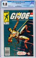 G. I. Joe, A Real American Hero #21 (Marvel, 1984) CGC NM/MT 9.8 Off-white to white pages