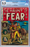 Golden Age (1938-1955):Horror, Haunt of Fear #10 (EC, 1951) CGC FN- 5.5 Off-white pages....