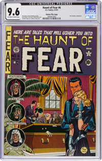Haunt of Fear #6 Gaines File Copy (EC, 1951) CGC NM+ 9.6 Off-white to white pages