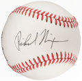 Autographs:Baseballs, President Richard Nixon Single Signed Baseball. O...