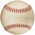 Autographs:Baseballs, Joe DiMaggio Single Signed Baseball. Offered is t...