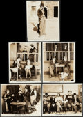 """Movie Posters:Comedy, A Dog's Life (Pathe, R-1920s). Fine. Photo (8"""" X 10"""") & Trimmed Photos (4) (8"""" X 9.75""""). Comedy.. ... (Total: 5 Items)"""