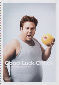 """Movie Posters:Romance, Good Luck Chuck & Other Lot (Lionsgate, 2007). Rolled, Very Fine. Printer's Proof One Sheets (2) (28"""" X 40.75"""" & 28"""" X 41"""") ... (Total: 2 Items)"""