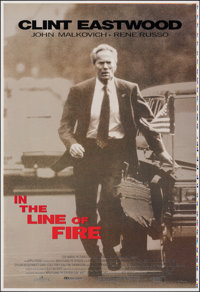 In the Line of Fire (Columbia Tristar, 1993). Rolled, Very Fine. International Printer's Proof One Sheet & Internati...