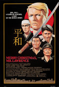 """Movie Posters:War, Merry Christmas, Mr. Lawrence & Other Lot (Universal, 1983). Rolled, Very Fine+. One Sheet (26.75"""" X 39.75"""") & Printer's Pro... (Total: 2 Items)"""