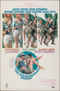 """Movie Posters:War, The Extraordinary Seaman & Other Lot (MGM, 1969). Folded, Fine/Very Fine. One Sheets (3) (27"""" X 41""""). War.. ... (Total: 3 Items)"""