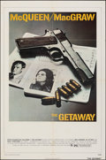 """Movie Posters:Action, The Getaway (National General, 1972). Folded, Fine/Very Fine. One Sheet (27"""" X 41""""). Action.. ..."""